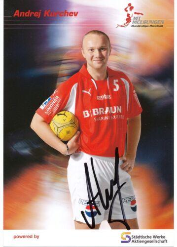 Andrej Kurchev  MT Melsungen Handball Autogrammkarte signiert  361911