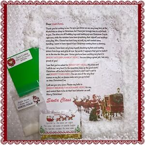 Personalized letter from santa claus wax sealed instant snow image is loading personalized letter from santa claus wax sealed instant spiritdancerdesigns Image collections