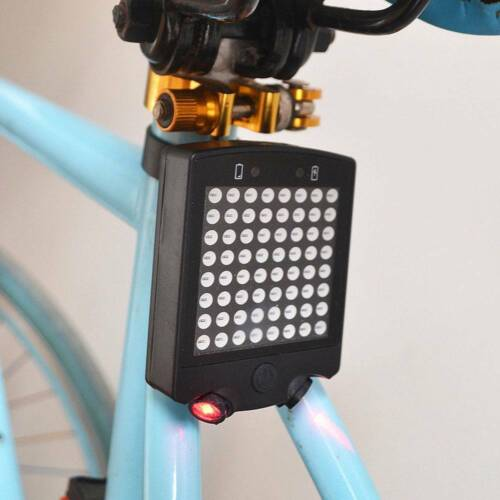 Auto Direction Indicator Bicycle Rear Tail Turn Signal Light Bike Warning Lamp