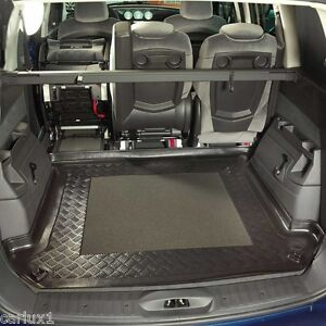 Alfombrillas para maletero Accesorios para coche Desde 2002 Protector Maletero Peugeot 807