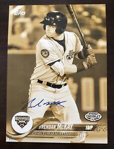 Brendan-McKay-Auto-Signed-jumbo-5x7-Topps-2018-Pro-Debut-Gold-039-d-01-10-Rays