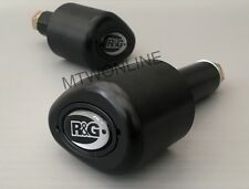R&G Motorcycle Black Crash Protectors Yamaha MT-10 2017 *BRAND NEW* NO CUT