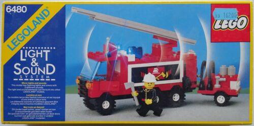 LEGO 6480 -- LE CAMION DE POMPIERS -- LEGO   NOTICE   BOITE