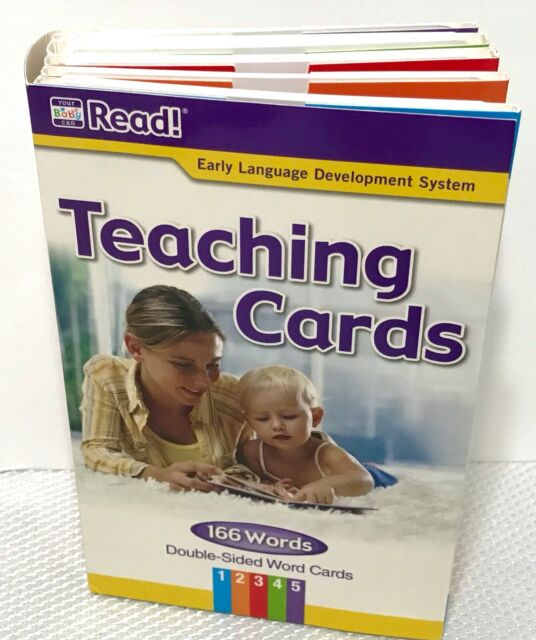Your Baby Can Read, Early Language Development Systems 166 ...