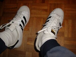 Détails sur Adidas Superstar Used Sneakers Taille 46 Occasion US 11,5 UK 11 #2