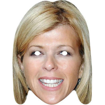 Kate Garraway Celebrity TV Presenter Card Mask All Our Masks Are Pre-Cut GMB