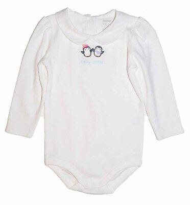 Gymboree Baby Girls 0-3 Months Shirt Top Mischievous Monkey Bodysuit NEW