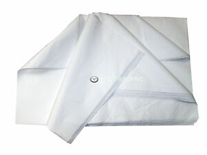 500 Sheets Of PURE WHITE Acid Free Tissue Paper 450x700mm *PROMOTIONAL PRICE* 5056061853418