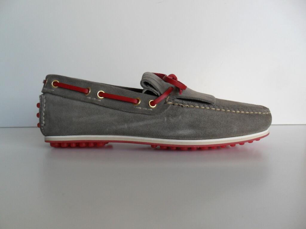 Messieurs / Dames Mocassin Car Économique Shoe homme acier/rouge Économique Car et pratique à la mode Promotion saisonnière 371711