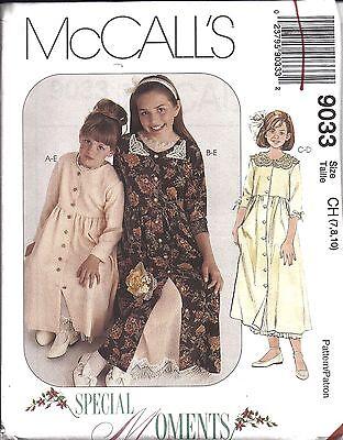 8695 Vintage UNCUT SEWING McCalls Pattern Girls Dress Doll Dress M Pullen OOP