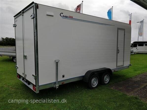 Trailer, Selandia Tomplan Cargo 550 TP, lastevne (kg):