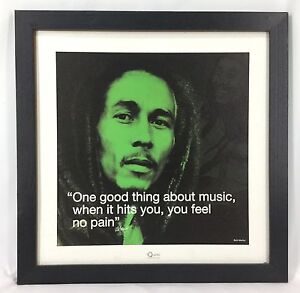 iQuote-Bob-Marley-Music-Quote-2009-Textured-Poster-Framed-Without-Glass-170808