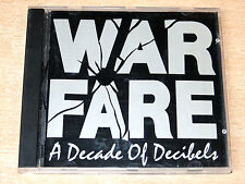 Warfare/A Decade Of Decibels/1993 Bleeding Hearts CD Album