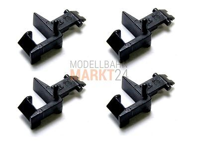 2 x FLEISCHMANN 9525 Standard-Steckkupplung für NEM-Normschacht Spur N NEU