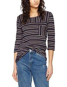 Q-S-designed-Ladies-T-Shirt-Blue-Pink-Stripes-Size-S-rrp-28-00-SA078-CC-13