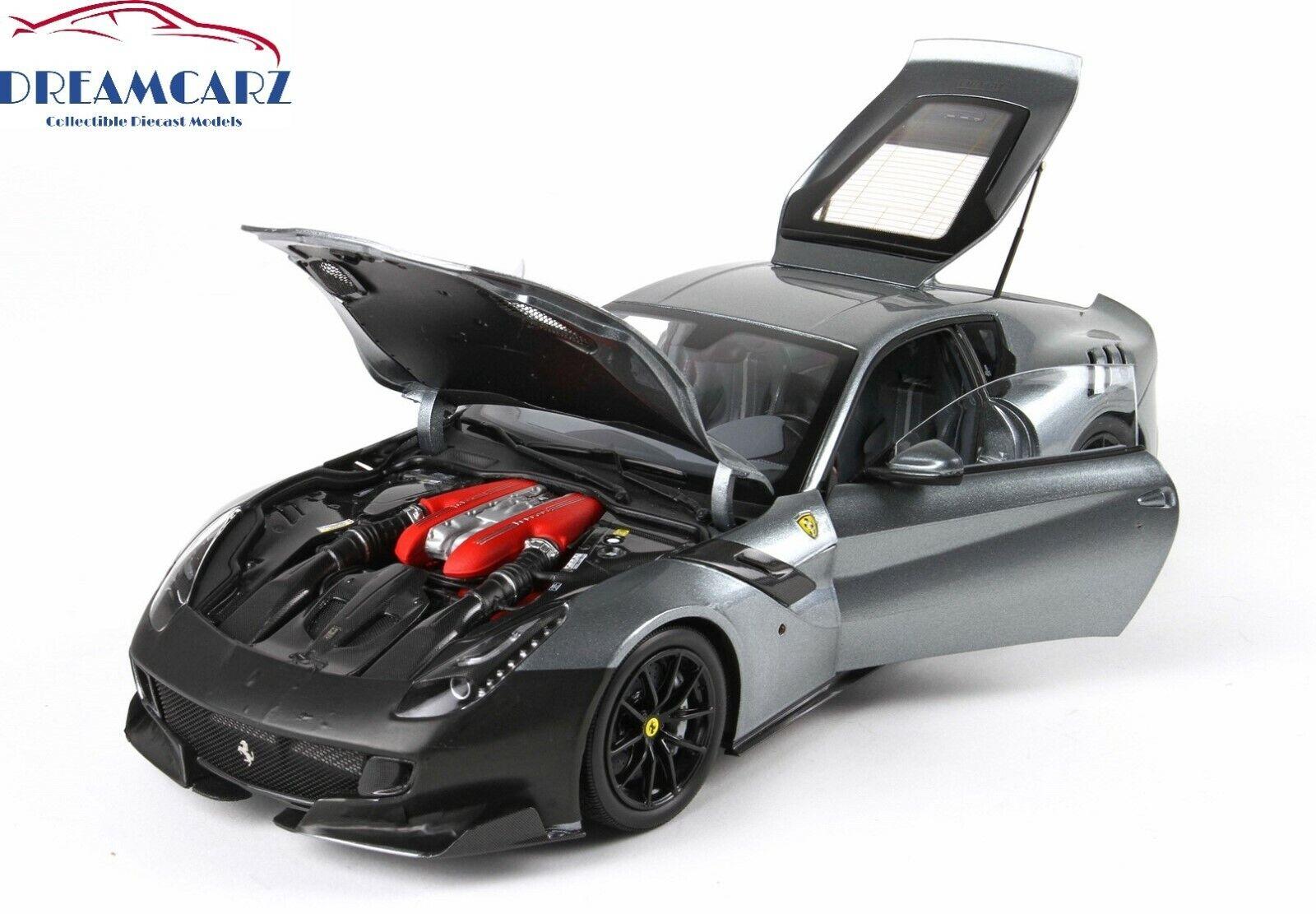 BBR BBR1821TS 1 18 Ferrari F12 TdF - Diecast -Begränsad 80-talsutrustning
