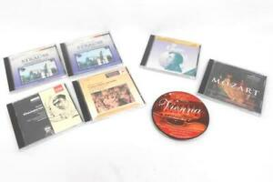 Lot-of-7-Various-Classical-Opera-Related-USED-CDs-Chopin-Mozart-Strauss