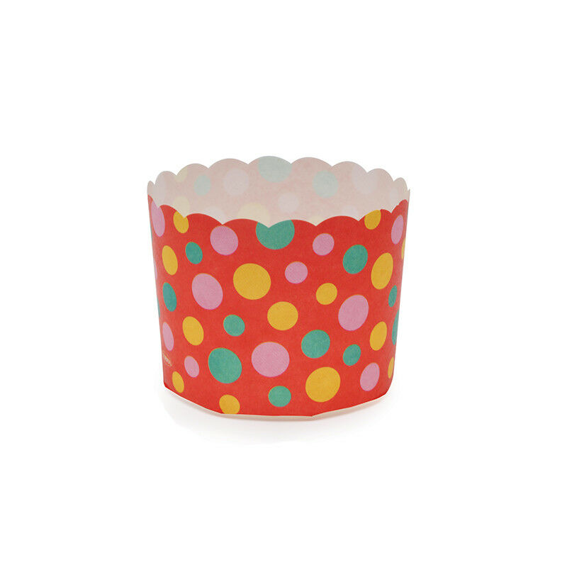 Welcome Home Brands rouge Dot Disposable Paper Baking Cup - Case of 500