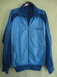 Détails sur Veste Adidas Originals Bleu polyester Jacket Homme style vintage M