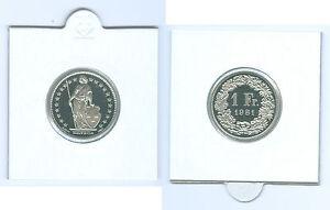 Svizzera-1-Franco-svizzero-PP-KMS-Selezionare-unter-1975-2006