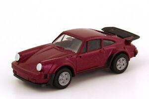 1-87-Porsche-911-turbo-rouge-violet-metallique-herpa-030601