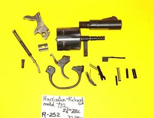 Details about H & R MODEL 732 IN 32 SW GUN PARTS LOT ALL PARTS PICTURED