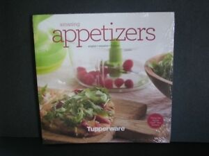 Tupperware appetizer recipe book 120 pages 24 recipes english image is loading tupperware appetizer recipe book 120 pages 24 recipes forumfinder Choice Image