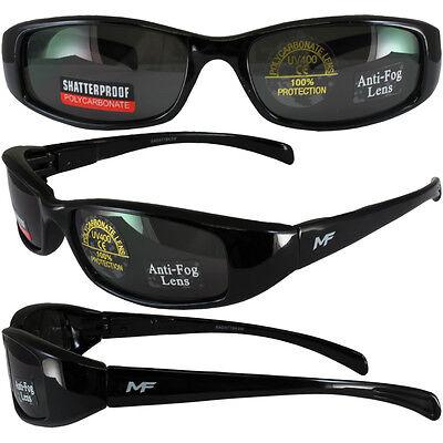 Black Frame//Blue Lens MF Payback Sunglasses