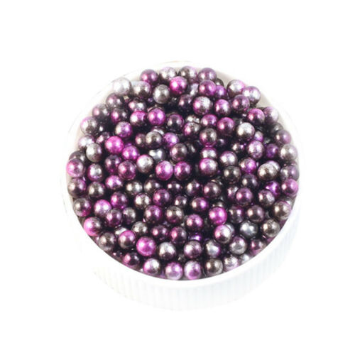 10//50//100pcs DIY Round ABS Imitation Pearls Beads Decoration without Hole Crafts