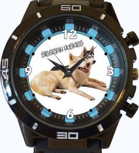Huskies-SIBERIANOS-NUEVO-SERIE-GT-DEPORTIVO-UNISEX-RELOJ-PARA-REGALO
