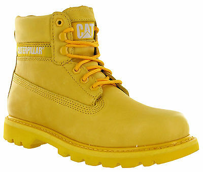 Caterpillar Colorado Citrus Leather Lace Ankle Boots Padded Mens Fashion P720362