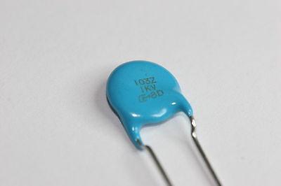 50pcs 0.01uf 10nf 10000pf 103 3000 V haute tension céramique condensateur disque