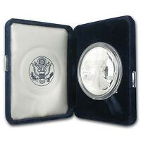 1995-P 1 oz Proof Silver American Eagle (w/Box & COA) - SKU #1069