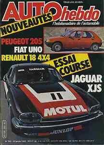 AUTO-HEBDO-n-352-du-20-Janvier-1983-ESSAI-COURSE-JAGUAR-XJS-R18-4X4