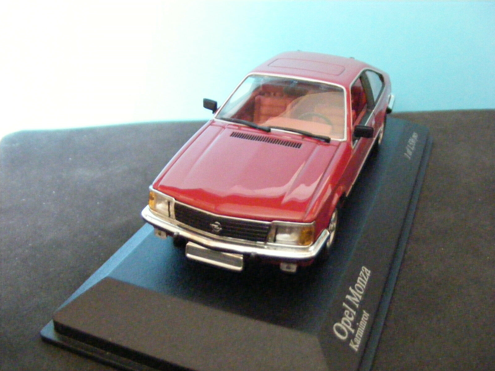 OPEL MONZA 1980 WOW EXTREMELY RARE MINICHAMPS 1 43 ONLY 1536 PCS WORLDWIDE NLA