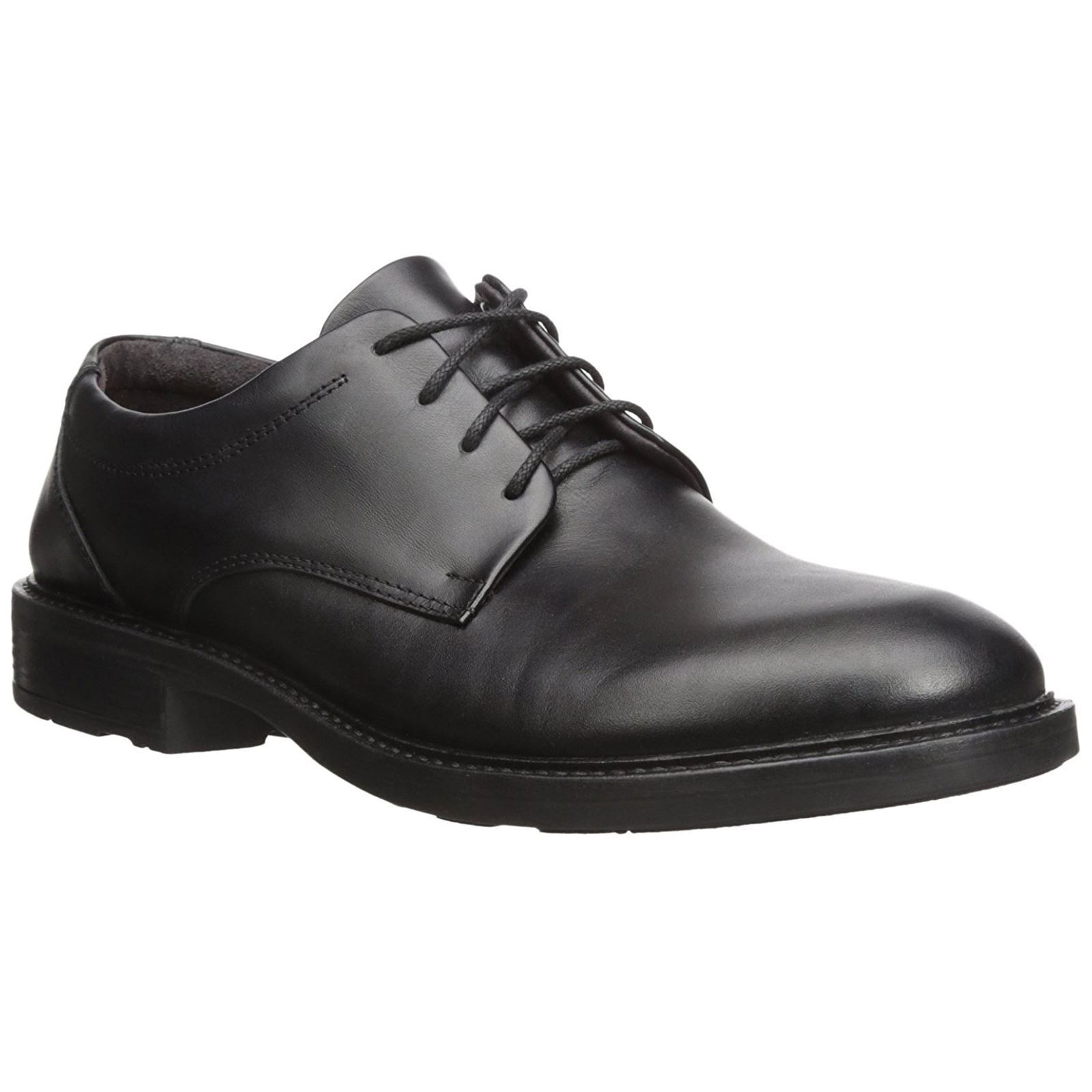Naot Wisdom Black Mens Leather Lace-up Casual Shoes
