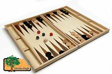 Royal backgammon light - Large 49cmm / 19.3in Handcrafted Wooden Backgammon