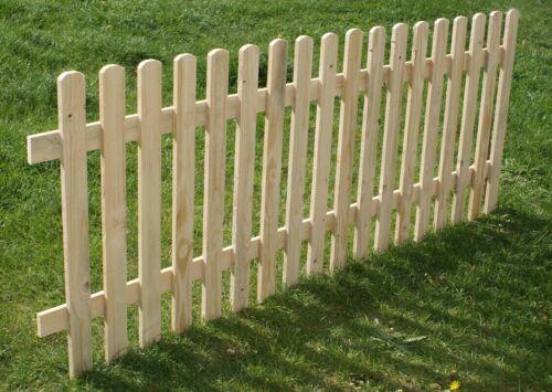 Staccionata in legno aiuole da giardino confine recinto casa misura 100cmx120cm
