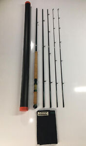 Rare Loop Green Line 14' #9-10 Salmon / Sea Trout Fly Fishing Rod With Extra Tip