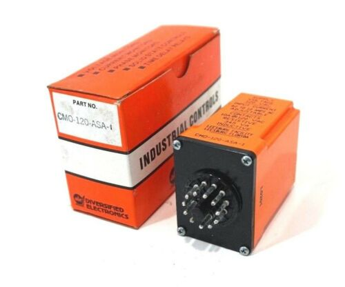 NEW DIVERSIFIED ELECTRONICS CMO-120-ASA-1 RELAY CMO120ASA1