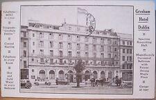 Irish Postcard GRESHAM HOTEL O'Connell St Dublin Ireland Mailed to US 1936