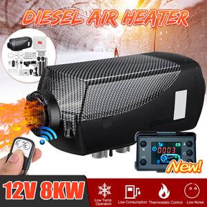 12V-8KW-Parcheggio-Riscaldatore-Diesel-Air-Heater-15L-Tank-LCD-Termostrato