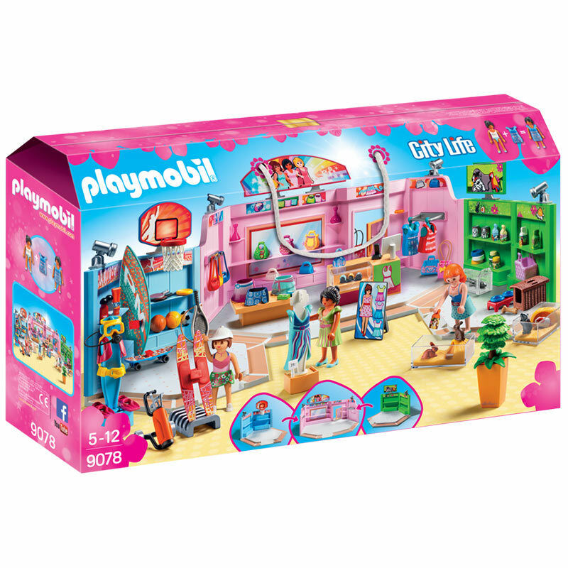 Playmobil Shopping  Plaza-City Life 9078  remise élevée