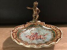Bronzefigur Keramik Engel aus Bronze Seifenschale Antik - Stil Mod.2