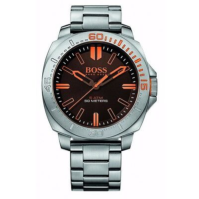 Hugo Boss Orange 1513296 Men's Silver Sao Paulo Stainless Steel Analog Watch