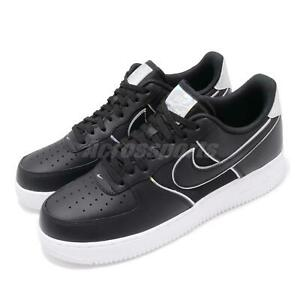 Nike-Air-Force-1-07-LV8-4-AF1-Black-White-Men-Casual-Shoes-Sneakers-AT6147-001