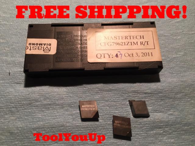 Shape Master Tool Co TPG 438 SM 075 PCD Diamond Insert