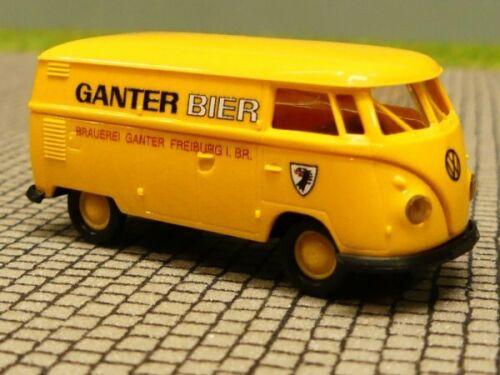 1//87 Brekina # 1835 VW t1 B CASSETTA BIRRA GANTER 32677