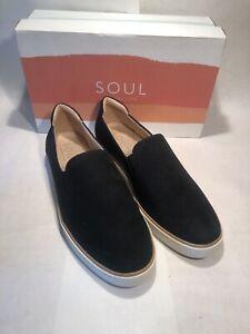 SOUL Naturalizer Kemper2 Women's Slip On Black Size 9.5 G8646F0001
