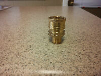Brass Quick Disconnect Coupler 1 4 Male Threads For Pressure Washers. Tools and Accessories